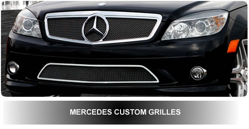 Custom grills for suv autos post for Mercedes benz custom grills